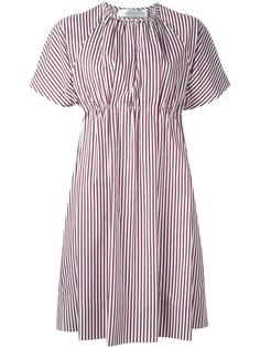 расклешенное платье с короткими рукавами Victoria Victoria Beckham