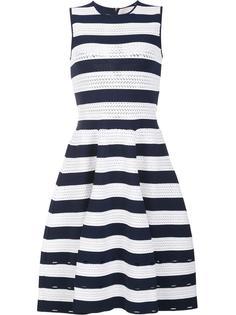 трикотажное платье в полоску Carolina Herrera
