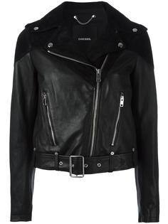 байкерская куртка Diesel