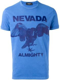 футболка с принтом 'Nevada Almighty eagle' Dsquared2