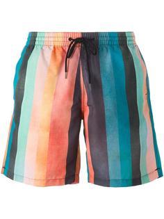 striped swim trunks Paul Smith