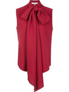 блузка с длинными завязками на бант Carolina Herrera