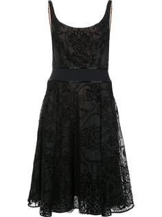 flared dress Marchesa Notte