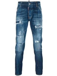 джинсы с потертой отделкой 'Classic Kenny Twist' Dsquared2