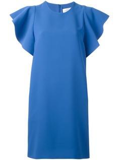 платье с волнистыми рукавами Victoria Victoria Beckham