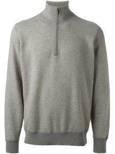 фактурный свитер с воротником на молнии  Loro Piana
