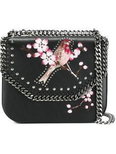 сумка-футляр 'Falabella' с принтом птицы Stella McCartney