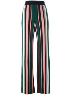 брюки с полосатым принтом Chinti And Parker