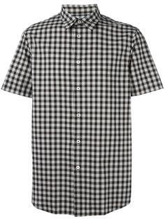 рубашка в клетку с короткими рукавами Ps By Paul Smith