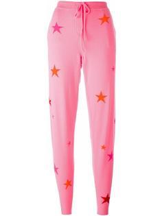 спортивные брюки с принтом звезд Chinti And Parker