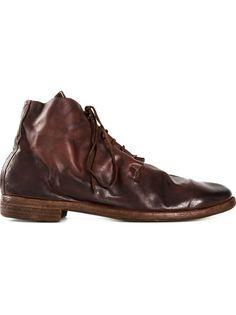 ботинки-дезерты с состаренным эффектом Guidi