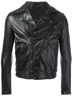 укороченная байкерская куртка Htc Hollywood Trading Company