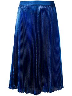 плиссированная юбка миди Christopher Kane
