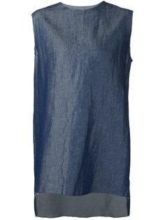 джинсовый топ с необработанными краями Yang Li