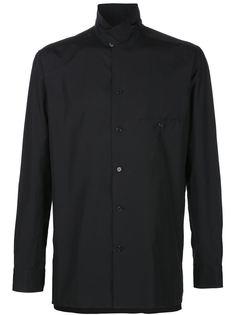 рубашка с воротником-стойкой Yohji Yamamoto