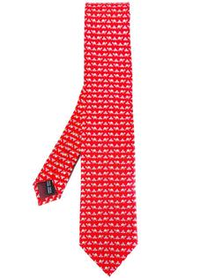 галстук с черепахами Salvatore Ferragamo