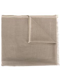 шарф с необработанными краями Salvatore Ferragamo