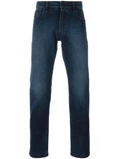 джинсы кроя слим Fendi