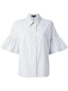 полосатая рубашка с расклешенными рукавами Burberry