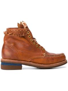 ботинки с бахромой Visvim