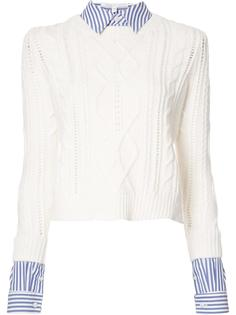 detachable collar jumper Veronica Beard