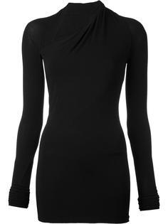 блузка с асимметричной горловиной Urban Zen