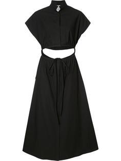 расклешенное платье Rosie Assoulin