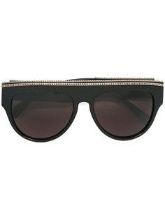 солнцезащитные очки в круглой оправе Balmain