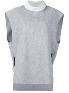 свитер с отворотом System