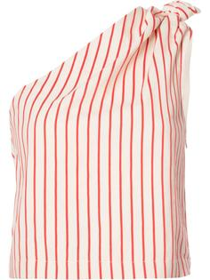 one shoulder knot blouse Rosie Assoulin