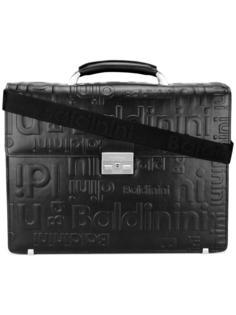 портфель с тисненым логотипом Baldinini