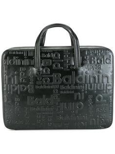 портфель с тиснением Baldinini