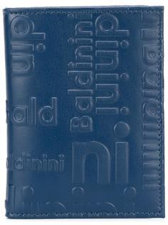 визитница с тисненым логотипом Baldinini