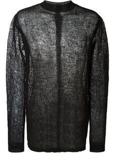 сетчатый свитер  Rick Owens