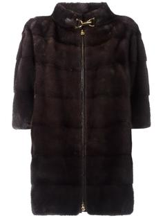 пальто с рукавами три четверти Baldinini