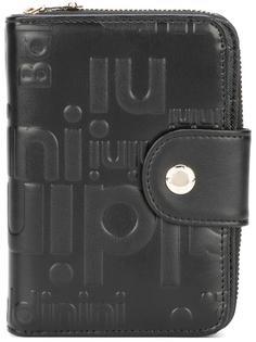 кошелек с круговой молнией и логотипом Baldinini