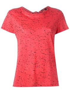 футболка с принтом брызг краски Proenza Schouler