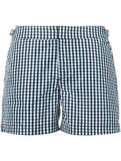 gingham check swim shorts Orlebar Brown