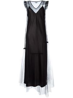 многослойное прозрачное платье Opening Ceremony
