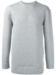 box fit sweatshirt Helmut Lang