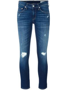 ripped detailing cropped jeans Rag & Bone