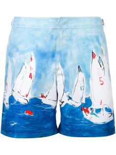 sailboat print swim shorts Orlebar Brown