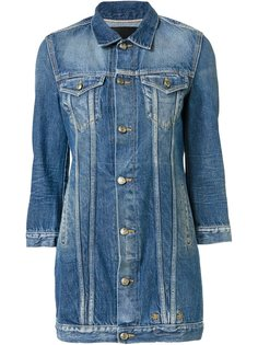 long denim jacket R13
