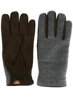перчатки с контрастной панелью Lardini