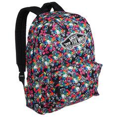Рюкзак городской женский Vans Realm Backpack Rainbow An Floral
