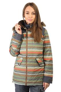 Куртка женская Burton Wb Hazel Jk Blanket Stripe
