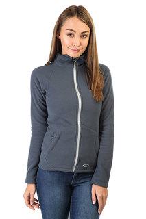 Толстовка классическая женская Oakley Fit Fleece Top Ombre Blue