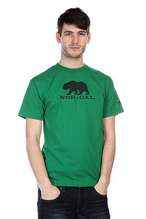 Футболка Nor Cal Black Bear Kelly Green