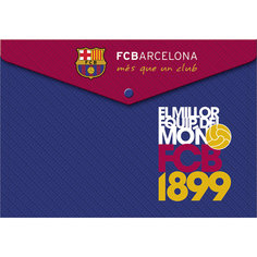 Пластиковая папка-конверт с застежкой, Barcelona Академия групп