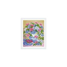 """Алмазная мозаика по номерам """"Нежные цветы"""" 40*50 см (на подрамнике) Tukzar"""
